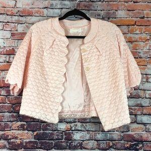 Quilted Light Pink Bed Jacket by Barbizon