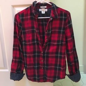 Red Express Flannel