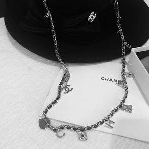 Chanel necklace belt