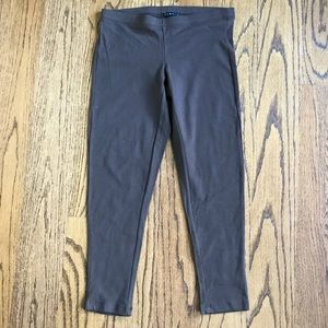 NWT Theory Brown Cropped Stretch Legging