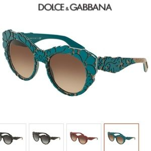 Beautiful Blue Dolce&Gabbana Sunglasses