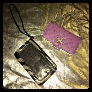 I Phone 4s wallet wristlet cases