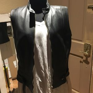 Cabi size Small Motorcycle Leather Vest
