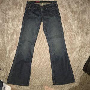 Adriano Goldschnied Angel bootleg jeans.