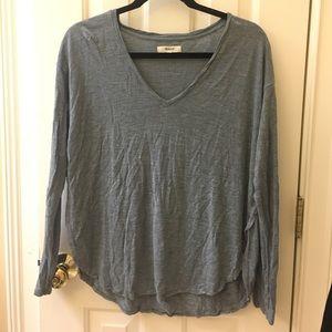 Madewell grey shirt