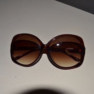 Big Brown Sunglasses