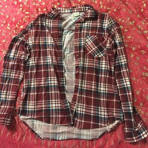 2 Polyester button downs