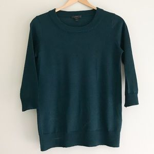 J. Crew Forest Green Tippi Sweater