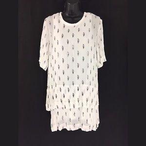 IRO Janet Dress Size 34 Silk Nylon