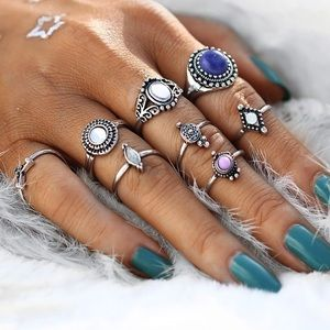 Jewelry - Gypsy Rings Set