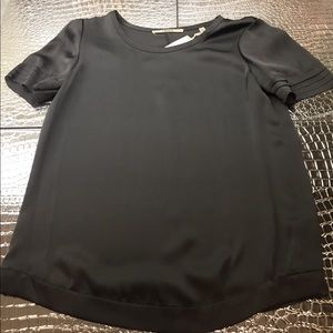 J Brand silk blouse Grey NWT