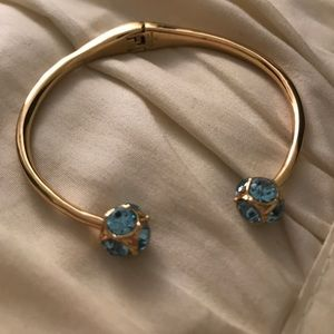 Kate Spade Bangle Cuff - Light Blue Gems
