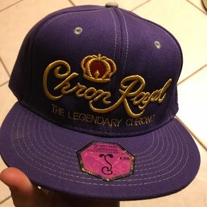 Grassroots Crown Royal mock hat