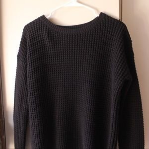 Forever 21 black box knit sweater