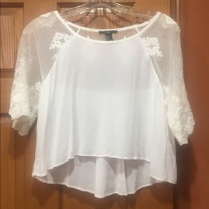 Forever 21 lace shirt