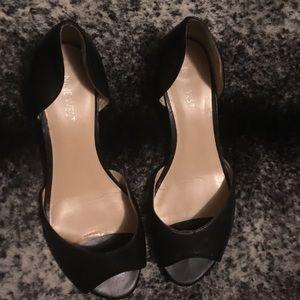 Nine West slip on wedge sandal