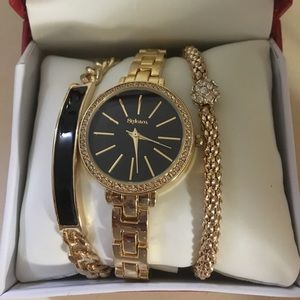 Watch & Bracelet Set