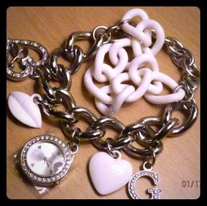 Guess  Charm Bracelet with Watch
