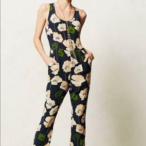Harlyn floral silk romper