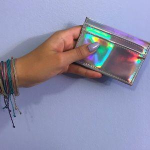 VS (Victoria's Secret) pink Holographic Wallet