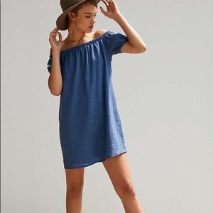 Cooperative off the shoulder dress