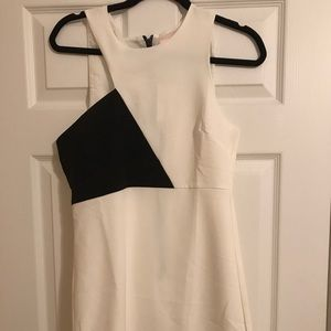 White/ black dress from LuLus online boutique