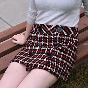 Thick Winter Button Up Skirt