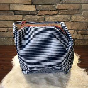 Lancôme Large Totes Beach Overnight Bags Striped