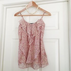 • forever 21 • blush pink rosy ruffled blouse