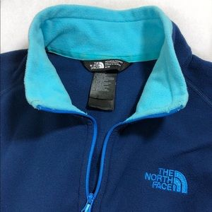 The North Face Blue fleece sweater