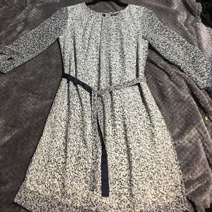 Armani Exchange fitted dress