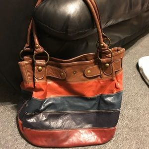 Hobo multi-color shoulder bag Axcess