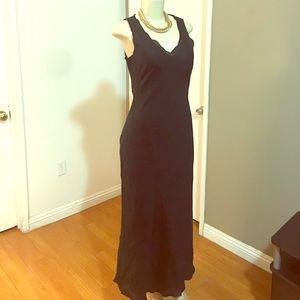 Banana Republic Linen Maxi Dress