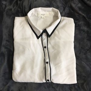 Collared button up.