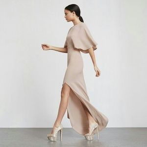 Reformation Escala Dress in Latte, size 4