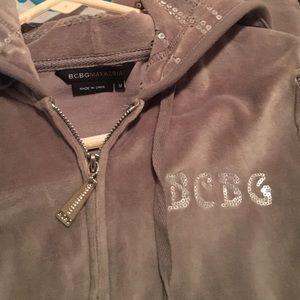 BCBG Maxazria sweat suit