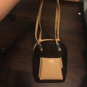 Gorgeous dark purple purse/backpack