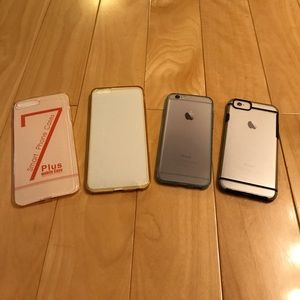 Bundle of 4 iPhone cases