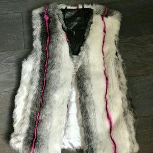David Bitton Fur Vest