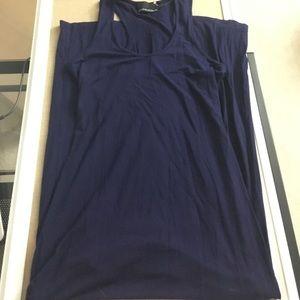 Cynthia Rowley navy maxi dress