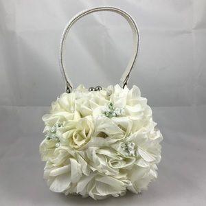 Lauren Scherr Floral handbag