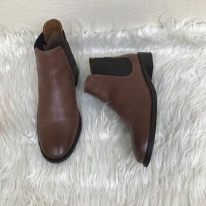 TOPSHOP Leather booties.