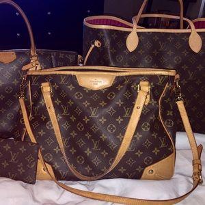 Authentic Louis Vuitton Estrela w/ shoulder strap
