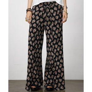 Denim & Supply Co paisley palazzo trouser pants