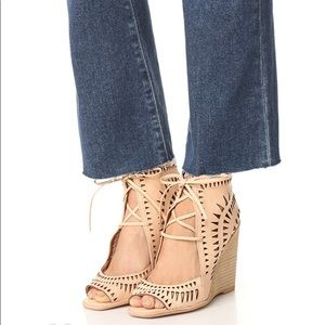 NEW Jeffrey Campbell Rodillo Wedge Sandals