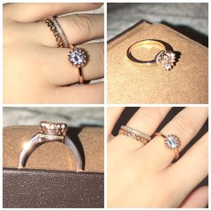 Jewelry - Rose Gold Princess Ring