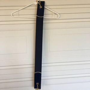 Accessories - Navy Stretch Belt