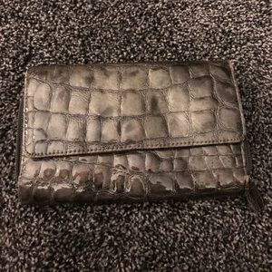 Handbags - Gray patent leather large  Wallet