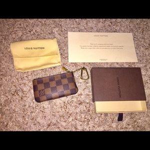 Authentic Louis Vuitton coin purse EUC