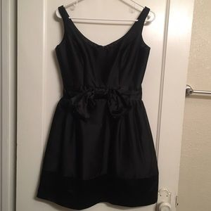 Milly little black bow front dress Like new size 4